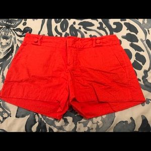 Banana Republic Coral/Orange Shorts